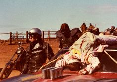 Behind the scenes on #MadMax 2 (1981).