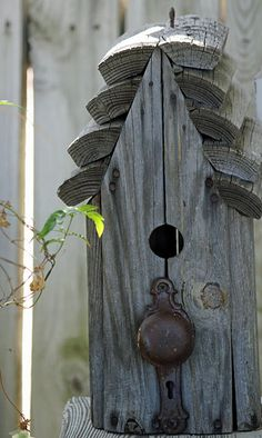 rustic & rural bird house