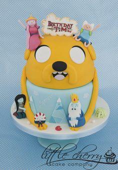 Adventure Time cake @Cassidy Scherer