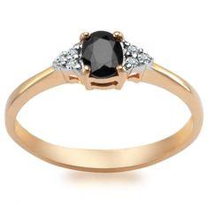 Pierścionek z Diamentami i Szafirem, 899 PLN www.YES.pl/52546-pierscionek-z-diamentami-i-szafirem-BB-Z-000-Y01-3278S #jewellery #gold #BizuteriaYES #shoponline #accesories #pretty #style