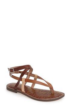 Sam Edelman 'Garrick' Ankle Wrap Sandal (Women) available at #Nordstrom