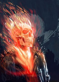 GHOST RIDER by Javier G. Pacheco by javierGpacheco on DeviantArt
