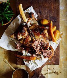 Australian Gourmet Traveller recipe for Moroccan lamb with honey.