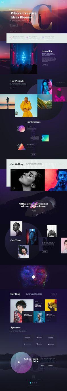 CREATO - Creative Portfolio Theme on Behance