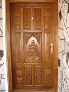 Latest Kerala Model Wood Single Doors Designs Gallery I . 900 Square Feet Single Floor Traditional Budget Home Design. Front Door Custom Single With 2 Sidelites Solid Wood . Home and Family Single Wooden Door Designs, Single Front Door Designs, Front Door Design Wood, Home Door Design, Main Entrance Door Design, Double Door Design, Entrance Doors, Single Door Design, Patio Doors