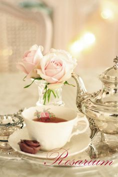*Rosarium* Afternoon Tea ...♥♥