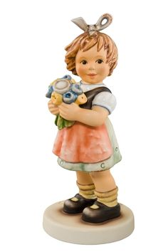 Viel Gluck und Segen / Precious Bouquet Hummel 2282 A / 14 cm Partnerfiguurtje is Hummel 2282 B Goebel Figurines, Beautiful Children, Little People, Illustrators, Childhood, Dolls, Bouquet, Disney, Collection