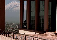 what a view! Mt Ararat, Yerevan, Armenia