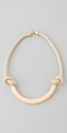 ORLY GENGER-USA by Jaclyn Mayer Necco Enameled Rope Necklace - StyleSays