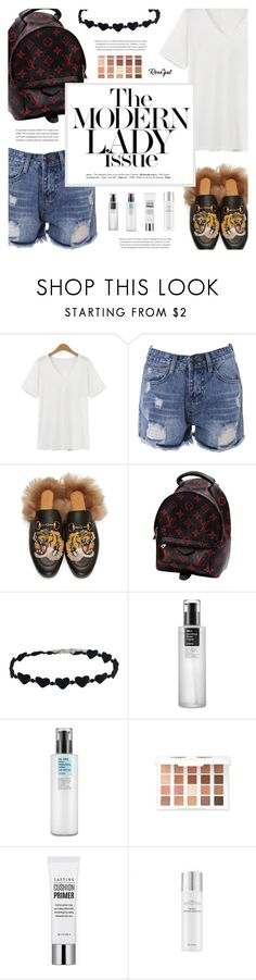 """""""Rosegal: Ready to go Shopping for Wish List! :p"""" by defivirda ❤ liked on Polyvore featuring Gucci, Louis Vuitton and Cosrx"""