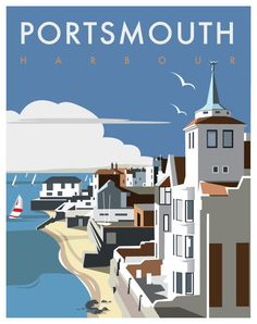 Portsmouth Harbour - Dave Thompson