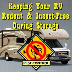 Keeping Your RV Rodent & Insect Free During Storage