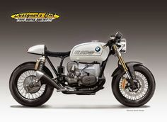"RocketGarage Cafe Racer: BMW R 100 ""VENOM MILK"""