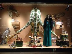 LK by Lincoln Keung: Harvey Nichlos Window Display - Pacific Place in Hong Kong