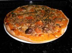 ♥ Mimos de Mãe ♥: Pizza Caseira Chocolate, Desserts, Food, Home Made Pizza, Tailgate Desserts, Deserts, Essen, Chocolates, Postres