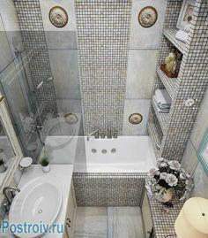 New Bathroom Remodel Diy Tile Shelves Ideas Diy Bathroom Remodel, Bathroom Spa, Bathroom Toilets, Shower Remodel, Bathroom Shelves, Bathroom Flooring, Bathroom Interior, Ideas Baños, Room Ideas