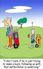 Funny+Golf+Quotes | how was your game dear jacqui asked her husband tony
