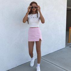 Summer Fashion Tips .Summer Fashion Tips Teenage Outfits, Teen Fashion Outfits, Retro Outfits, Girly Outfits, Outfits For Teens, Trendy Outfits, Skirt Outfits, Chic Outfits, Fashion Tips