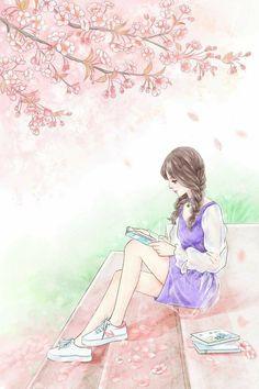 Cute Girl Drawing, Cartoon Girl Drawing, Girl Cartoon, Cartoon Art, Cute Cartoon, Cute Drawings, Cool Anime Girl, Beautiful Anime Girl, Anime Art Girl