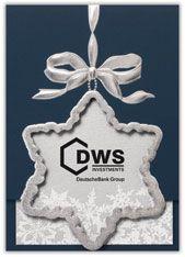 Star Ornament Christmas Card