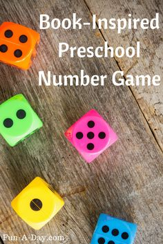 """Preschool Number Game inspired by the book """"Make Way for Ducklings"""" 