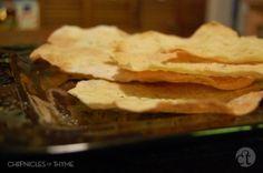 sardinian flat bread