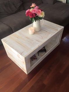 15 Creative DIY Coffee Table Ideas You Can Build Yourself | Pinterest |  Farmhouse Coffee Tables, Centerpieces And Display