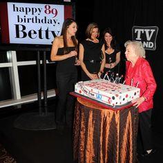 Betty White celebrates 89th birthday