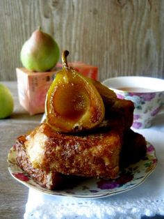 ginger pear french toast