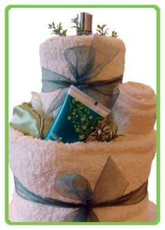 Gifts At Pamper Cake  Unique Gift Ideas Towel Cakes Unusual
