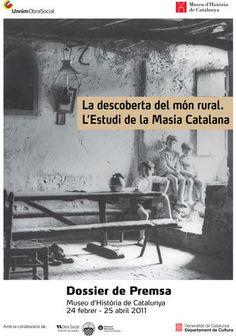 """""""L'Estudi de la Masia Catalana"""" #exposició  2011 Museu Nacional d'Història de Catalunya. #Patxot #masia_catalana. Del blog Quiro news http://ves.cat/jUwF"""