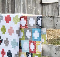 Inside Out quilts. Great quilt pattern for the boys' room!