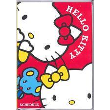 2014.9-2015 Hello Kitty & Mimy Calendario Libro planificador Semanal Agenda Rojo Sanrio B6
