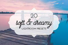 20 Soft & Dreamy Lightroom Presets by pixel_lady on Creative Market