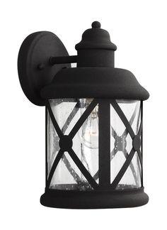 Seagull Lighting - Medium One Light Outdoor Wall Lantern
