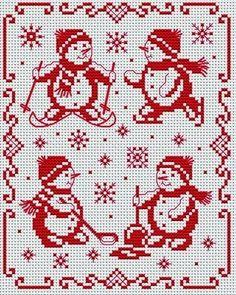 Бесплатные схемы вышивки крестом / Free cross stitch patterns