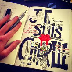 http://www.deviantart.com/art/Je-Suis-Charlie-505569437