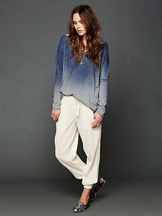 Intimately Striped Smocked Pant at Free People Clothing Boutique