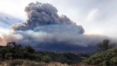 Gallery The Thomas Fire at its height