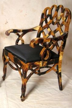 Are you thinking of buying a tortoise to keep? Tortoise pet care takes some planning if you want to be. Antique Furniture, Painted Furniture, Furniture Design, Chinoiserie, Art Nouveau, Love Chair, Take A Seat, Tortoise Shell, Home Accessories
