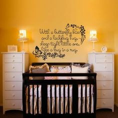 like the idea of 2 tall skinny dressers on either side of crib