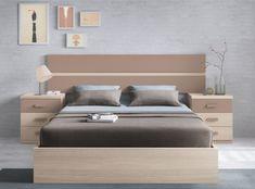 Dormitorio con somier abatible de 150x190...