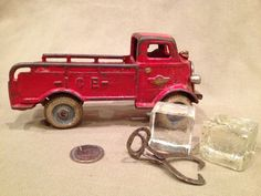 1930's Iron Ice Truck With Ice and Tongs by TrashAngelTreasures, $75.00