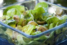 Insalata lattuga e olive Olive, 20 Min, Fresh Rolls, Lettuce, Potato Salad, Cabbage, Vegetables, Cooking, Ethnic Recipes