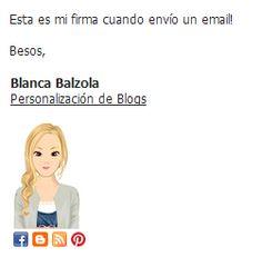 Personalización de Blogs: Cómo hacer una firma para tu email con iconos sociales