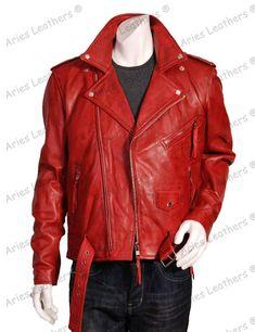 Kingdom Leather Men Slim Fit Biker Motorcycle Lambskin Leather Jacket Coat Outwear Jackets X1212