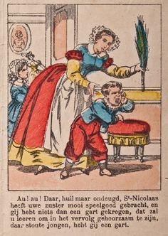 De Gard / Roe, 'Kader' illustratie van een centsprent ca. 1860
