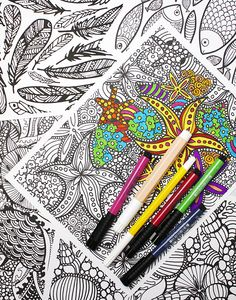 New coloring pages in the shop!