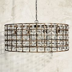 Shop for contemporary chandelier lighting at Arhaus. Our unique chandeliers are a perfect way to brighten up your living or dining room. Dining Room Lighting, Chandelier Lighting, Chandeliers, Chandelier Ideas, Contemporary Chandelier, Cage, Light Fixtures, Ceiling Lights, Industrial Chic