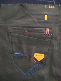 Denim Jeans Men, Boys Jeans, Painted Clothes, Club Dresses, Trousers, Pants, Stretch Jeans, Jeans Style, Pocket